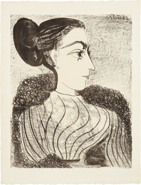 Pablo Picasso, 'Femme au chignon (Woman with Chignon),' 1957, Phillips: Evening and Day Editions (October 2016)