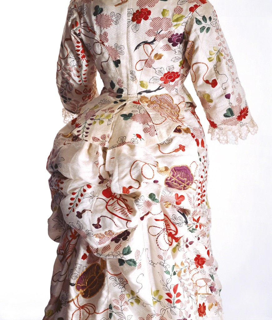 Turner / Dress / 1870s / Collection of the Kyoto Costume Institute (KCI) / Photo by Richard Haughton