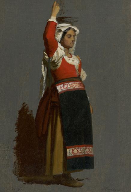, 'Italian Woman,' ca. 1857, Debra Force Fine Art