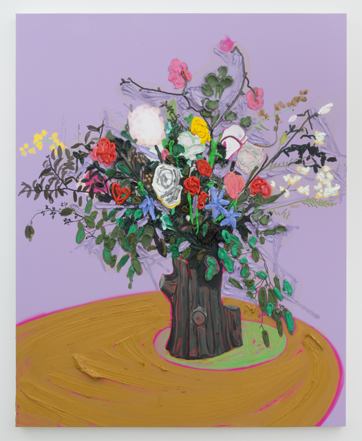 , 'Flowers (for Mr. Hockney),' 2017, Castor Gallery