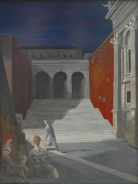 Volker Stelzmann, 'Konservatorenpalast', 1990, DIE GALERIE