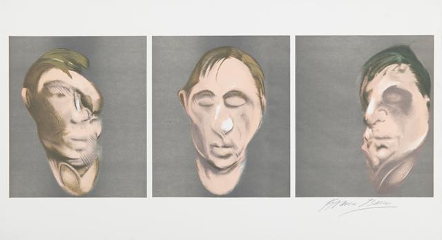 , 'Three Studies for a Self-Portrait ,' 1983, Galerie Koch