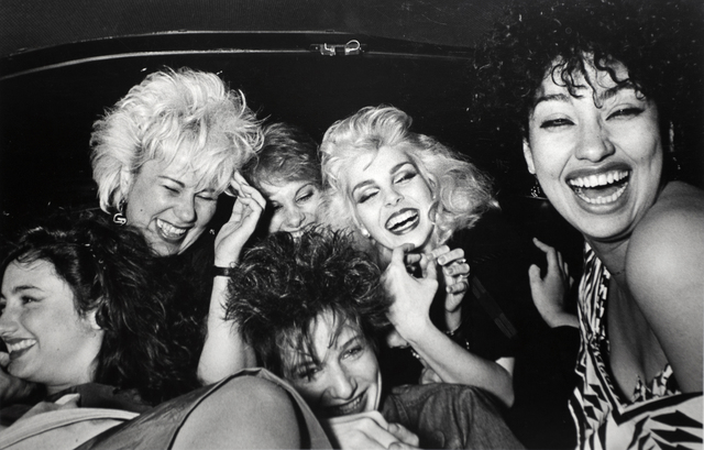 , 'Six Girls Crack Up,' 1982, Bruce Silverstein Gallery