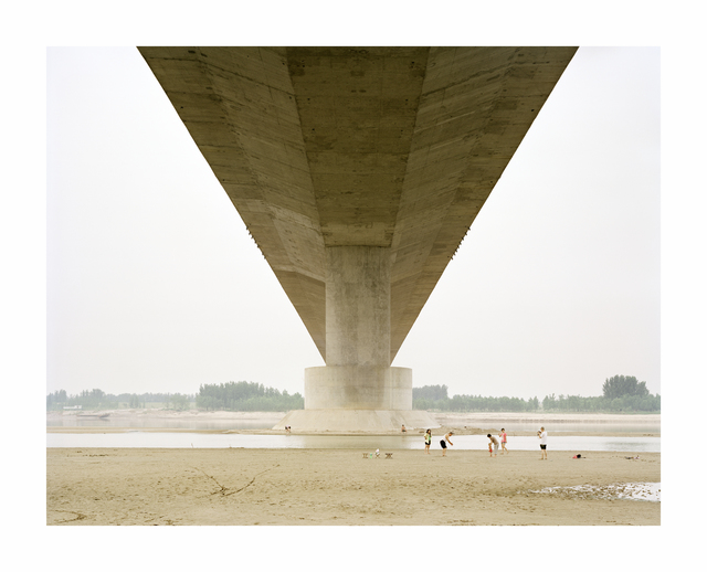, 'A Family Spending the Weekend Under a Bridge, Shandong, China,' 2011, Beetles + Huxley