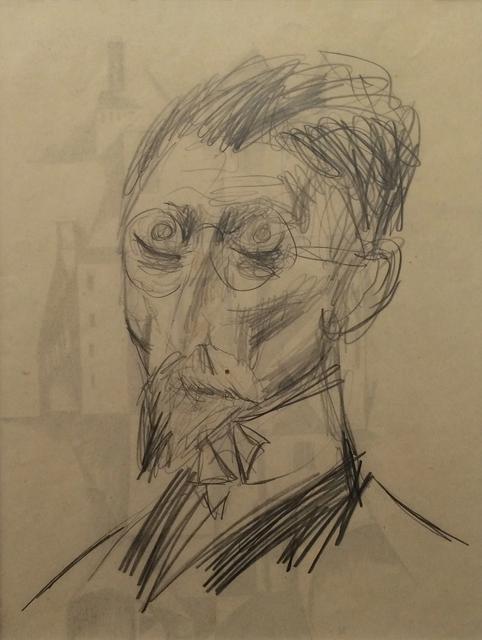 , 'Männliches Bildnis,' 1922, Galerie Schwarzer
