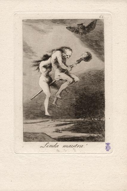 , 'Linda maestra! (Pretty teacher!),' 1796-1797, Seattle Art Museum