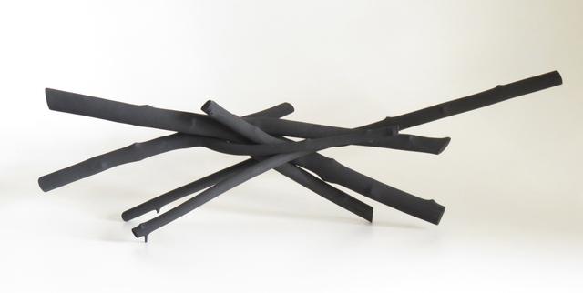 , 'Black Sticks 3,' 2016, Oeno Gallery