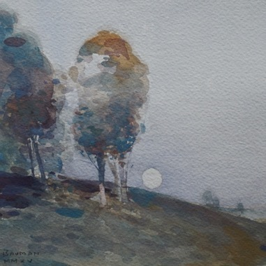 , 'Trees on a Hillside,' 2015, Grenning Gallery