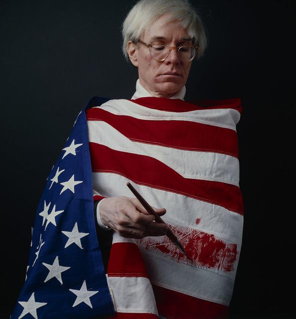 , 'La Bandera, Andy Warhol ,' 1983, Photo Lounge
