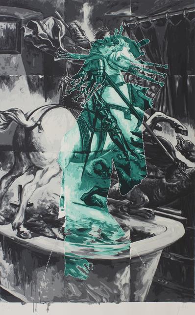 Tadanori Yokoo, 'Devine Symbol', 1990, Print, Screenprint, Yodo Gallery