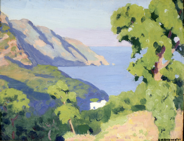 , 'From St. Agatha, Bay ofSalerno,' 1937, ACA Galleries