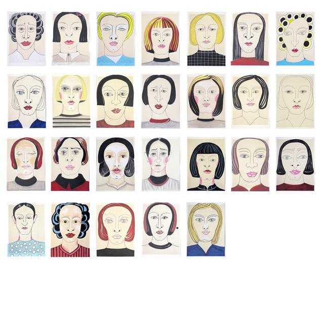 , 'Incansables (el rostro es una política),' 2013, Trinta