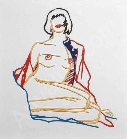 , 'Monica Sitting Undressing,' 1986, Vertu Fine Art