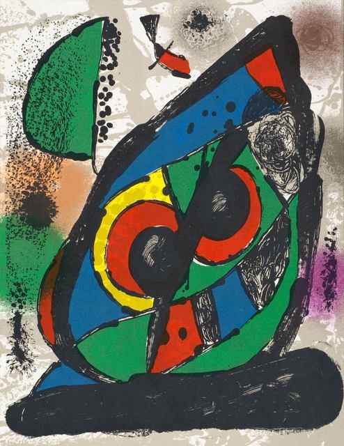Joan Miró, 'Composition I from Miró Lithographs 4, 1972', 1981, Hans den Hollander Prints