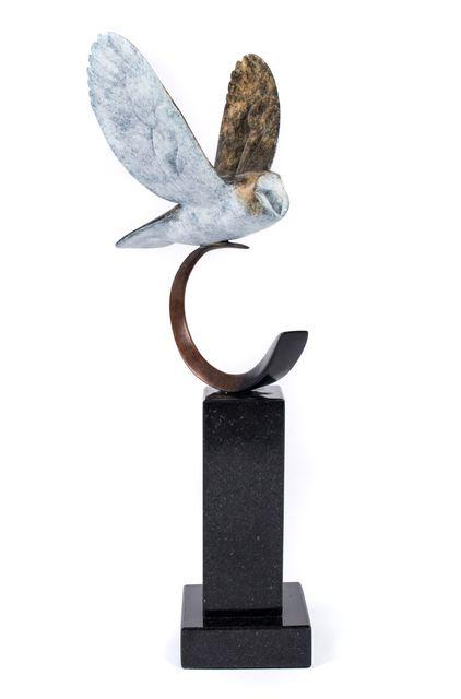 , 'Barn Owl in Flght,' , Mark White Fine Art