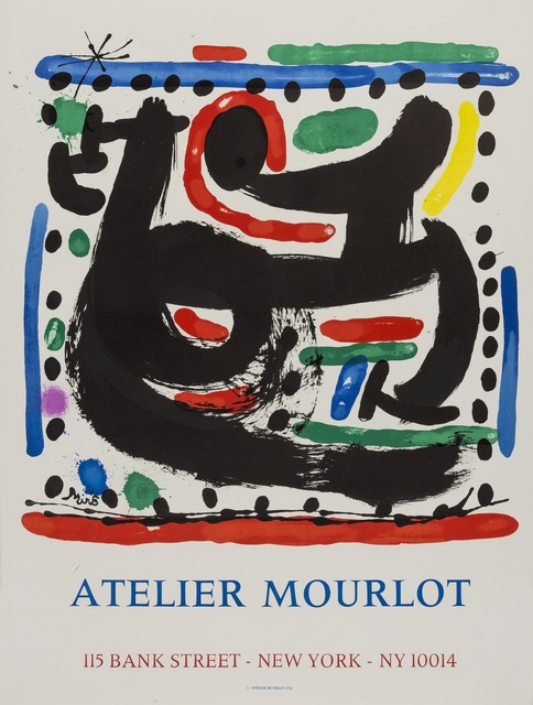 Joan Miró, 'Atelier Mourlot, 1967', 1967, Print, Two lithographic posters printed in colours, Forum Auctions