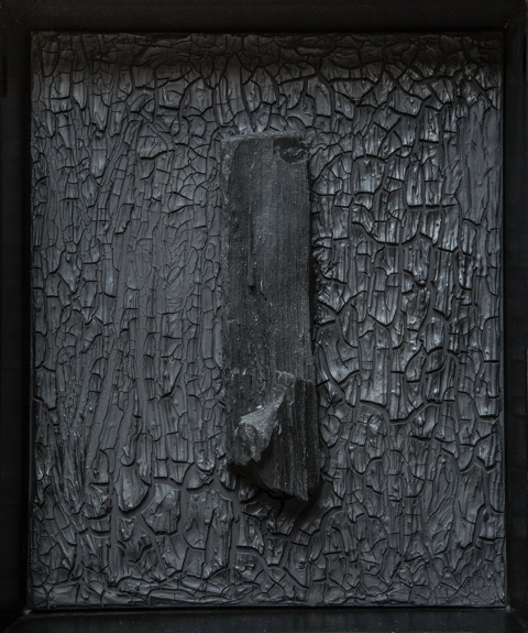 Beatriz Zamora, 'El Negro 3060', 2015, Mixed Media, Vegetable coal, Galeria Enrique Guerrero