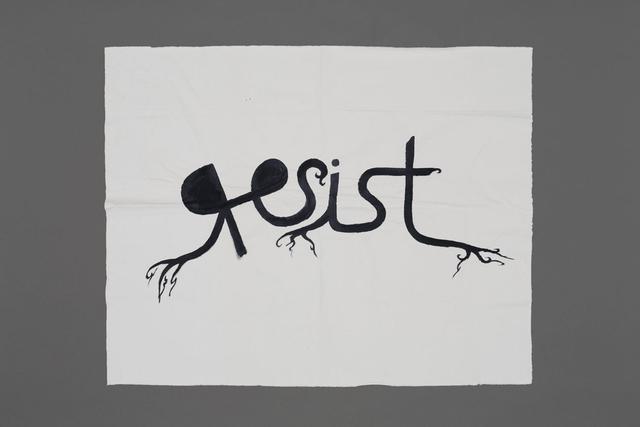 , 'Resist,' 2015, Jérôme Poggi
