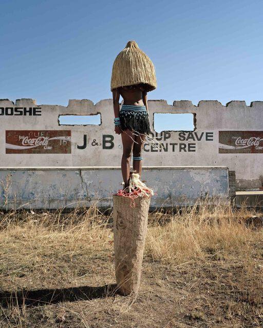 ", 'Ancestors, from the series ""Zulu Kids"" ,' 2014, Art Twenty One"