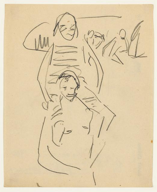 , 'Fränzi Huckepack,' ca. 1911, Galerie Herold