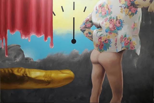 , 'Goldfinger,' 2019, Galerie Crone