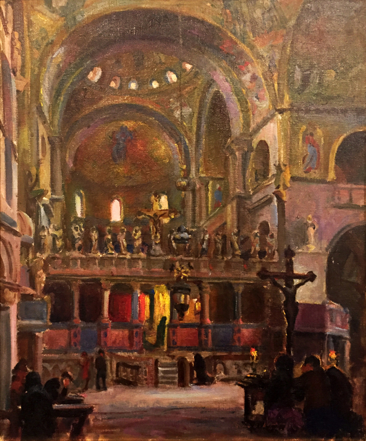 , '[Interior of St. Mark's Basilica, Venice],' , Childs Gallery