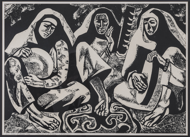 , 'Marriage in Refaa,' 1986, Hafez Gallery