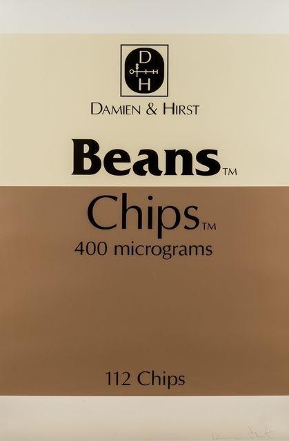 Damien Hirst, 'Beans and Chips (from The Last Supper)', 2005, Forum Auctions