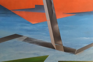 , 'Hurdles #2,' 2015, Joshua Tree Art Gallery