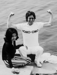 John Lennon and Yoko Ono, Cannes
