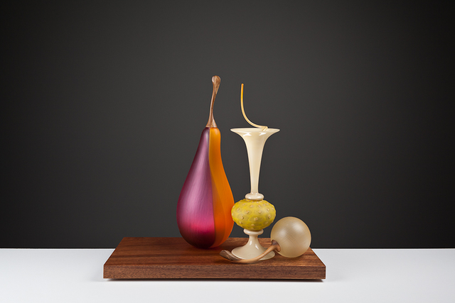 , 'Still Life with Bosc and Nut,' , London Glassblowing Gallery