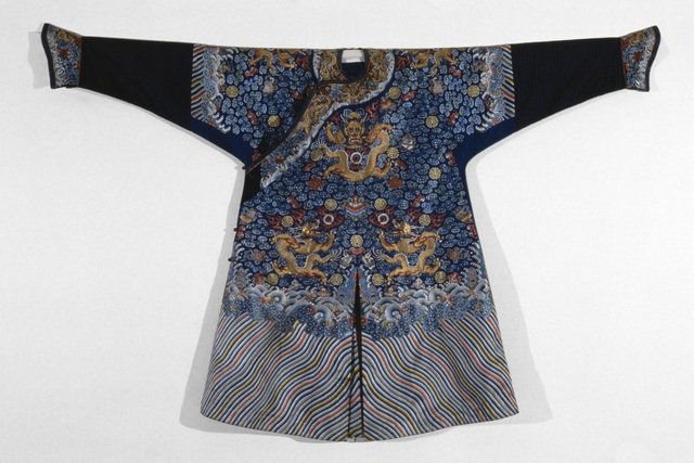 , 'Qifu (Dragon robe),' 1860-1870, Seattle Art Museum