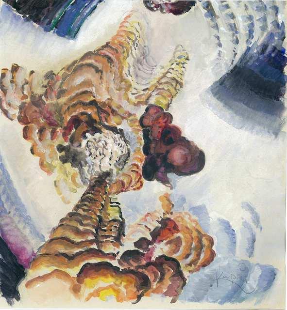""", 'Study for """"Conte pistils et d'etamines"""",' ca. 1919, Adler & Conkright Fine Art"""