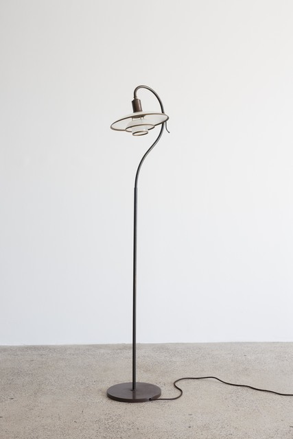 , 'Question mark floor lamp,' 1931, Galleri Feldt