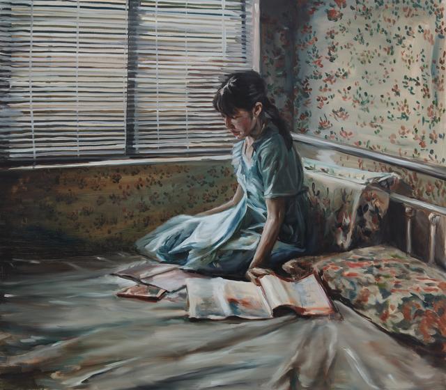 Chen Han, 'Blue Girl', 2018, Matthew Liu Fine Arts