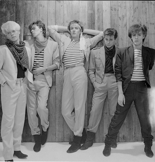 , 'Duran Duran, Studio Shot,' 1981, ElliottHalls