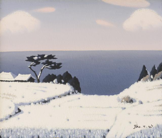 , 'Winter Sea(겨울바다),' 2017, Galerie Bhak