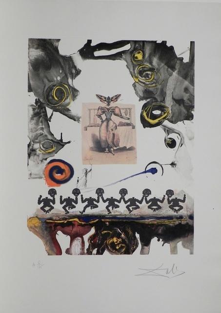 Salvador Dalí, 'Memories of Surrealism Surrealist Gastronomy ', 1971, Print, Etching, Fine Art Acquisitions Dali