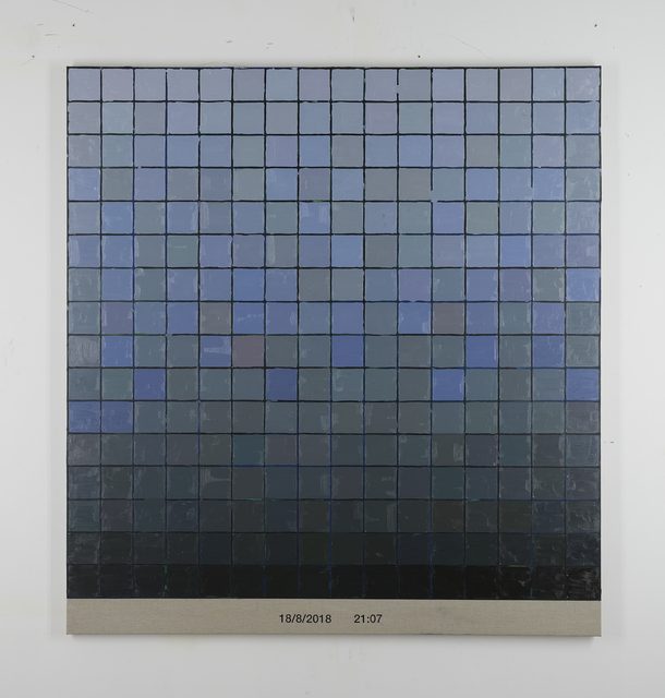 , 'Colorscape 18 aug 21:07,' 2018, Whitehouse Gallery