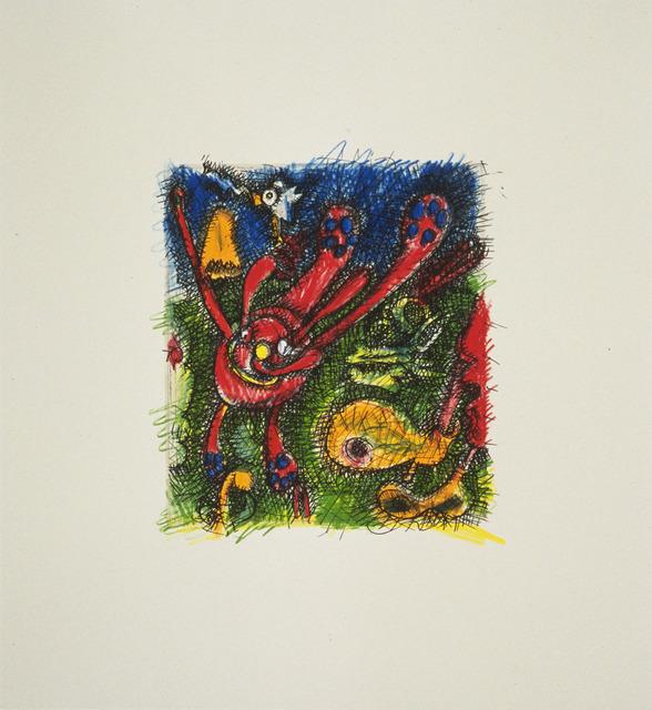 , 'Red                        Violet,' 1995, Gemini G.E.L. at Joni Moisant Weyl