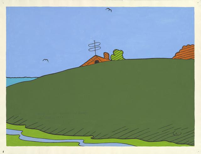 John Wesley, 'House in the Bouches du Rhone', 1974, Waddington Custot