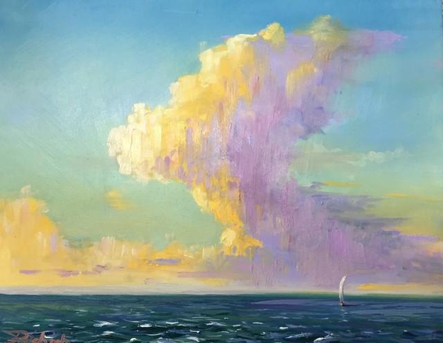 , 'September Sail,' 2018, 530 Burns Gallery