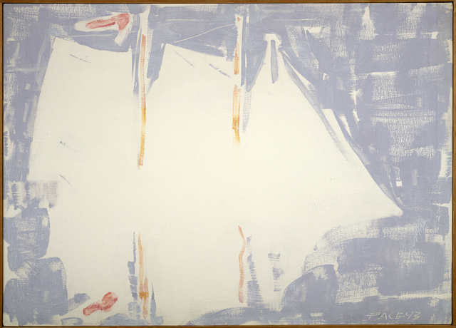 , 'Windjammer in Fog #1 (93-5),' 1993, Berry Campbell Gallery