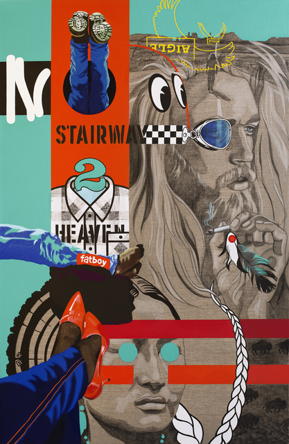Myriam Baudin, 'No stairway to heaven', 2017, Galerie Bayart