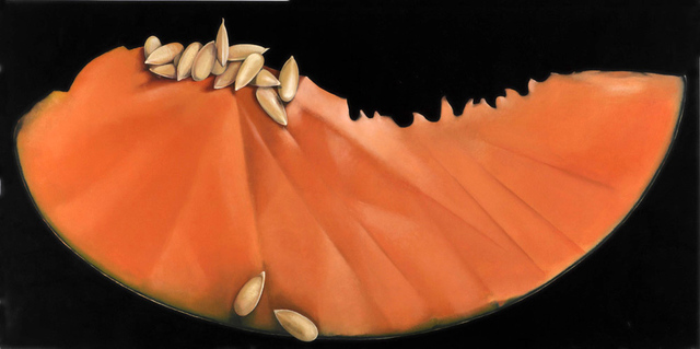 , 'CANTALOUPE SLICE,' 2011, ArtSpace / Virginia Miller Galleries