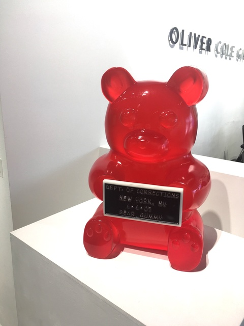 , 'Vandal Gummy Bear,' 2017, Oliver Cole Gallery