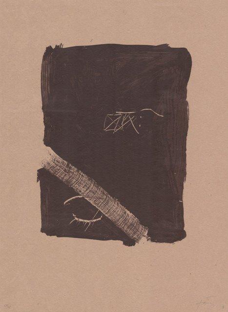 Antoni Tàpies, 'Llambrec material V', 1970-1980, ARTEDIO