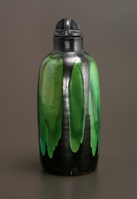 , 'Jade and Black Bottle Vase,' ca. 1903 , Jason Jacques Gallery