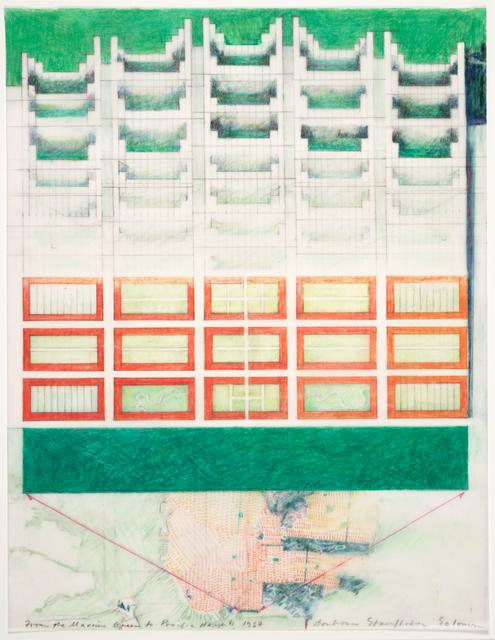 Barbara Stauffacher Solomon, 'From the Marina Green to Pacific Heights', 1987, San Francisco Museum of Modern Art (SFMOMA)