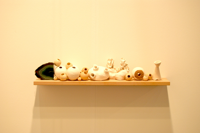 , 'wood shelf,' 2015, The Gallery Apart